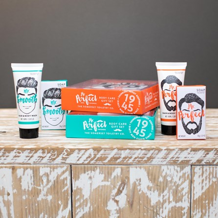 Men's Soap And Body Wash Gift Set