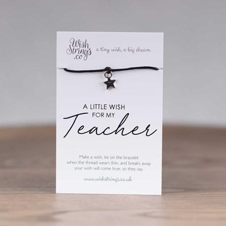 Little Wish 'Teacher' Star Wish Bracelet