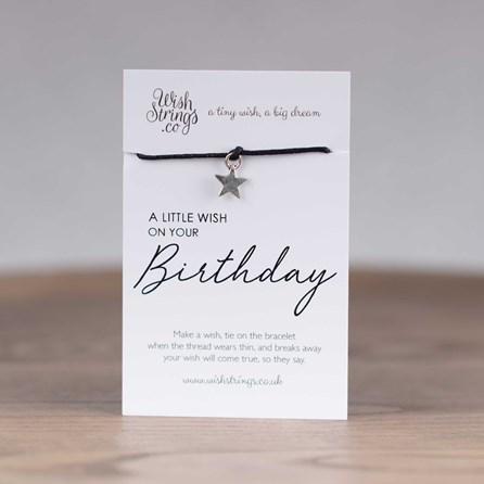 Little Wish 'Birthday' Star Wish Bracelet