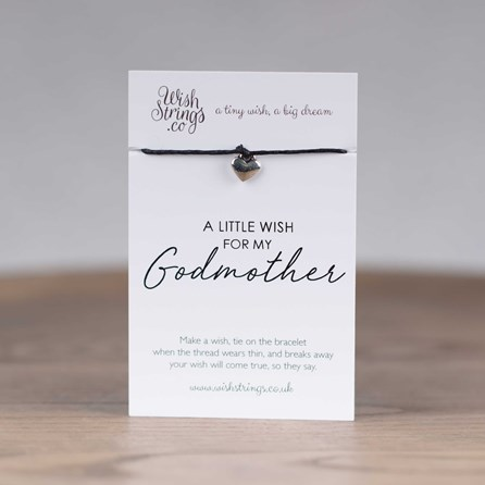 Little Wish 'Godmother' Heart Wish Bracelet