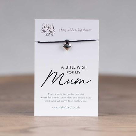 Little Wish 'Mum' Heart Wish Bracelet