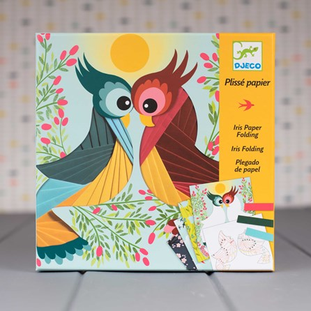 Create Your Own Paper Bird Kit