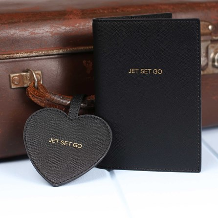'Jet Set Go' Passport Holder