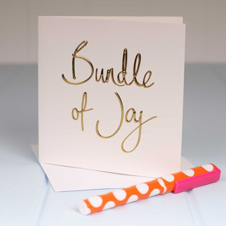 'Bundle Of Joy' Greetings Card