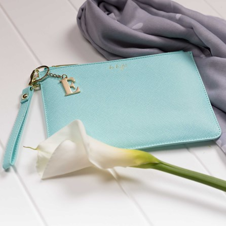 Katie Loxton Personalised 'Be Bright' Secret Saying Clutch Bag