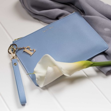 Personalised 'Time To Shine' Secret Saying Clutch Bag