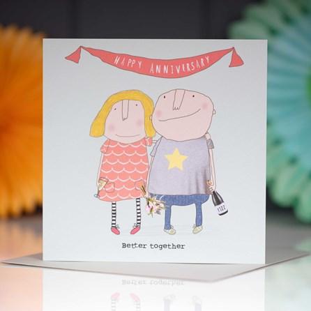 'Happy Anniversary...' Card