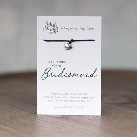 Little Wish 'Bridesmaid' Heart Wish Bracelet