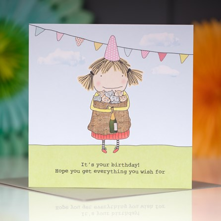 'It's Your Birthday...' Greetings Card