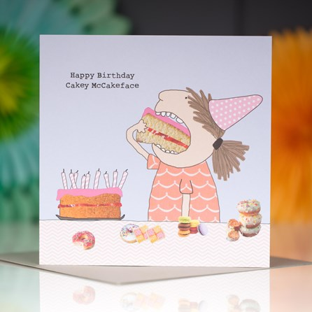 'Happy Birthday...' Greetings Card