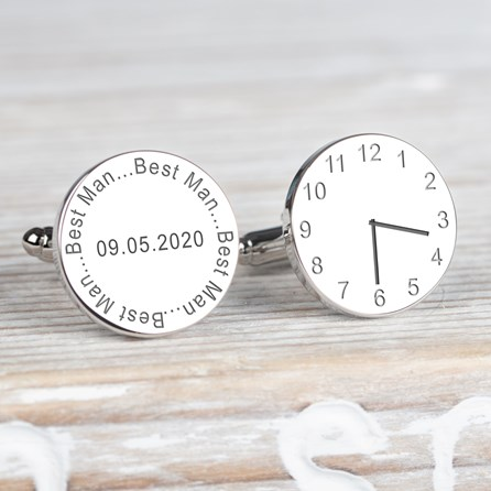 Personalised Wedding Cufflinks For The Best Man