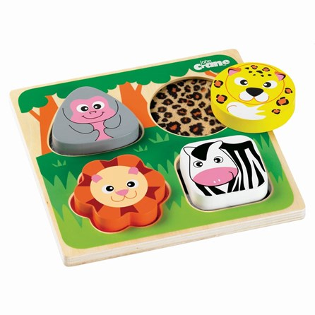 Touch and Feel Safari Puzzle