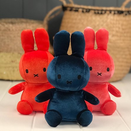 Dark Teal Velvet Miffy