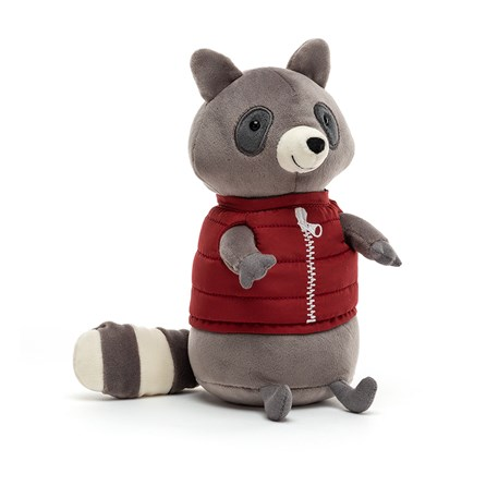 Jellycat Campfire Critter Raccoon Soft Toy