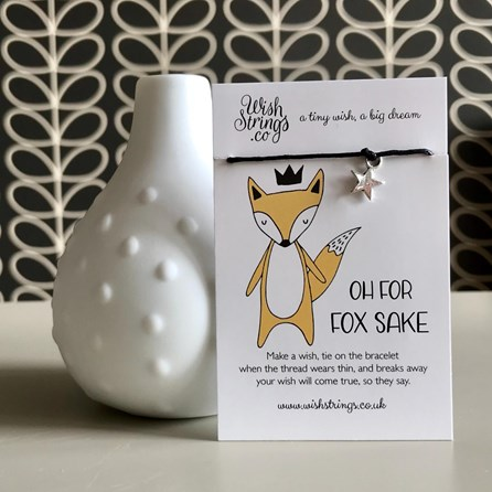 'Oh For Fox Sake' Star Wish Bracelet