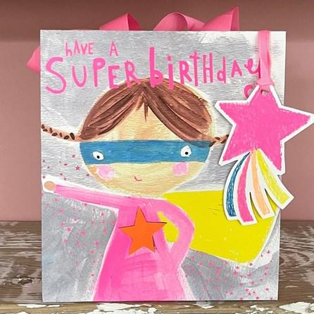 'Have A Super Birthday' Medium Gift Bag
