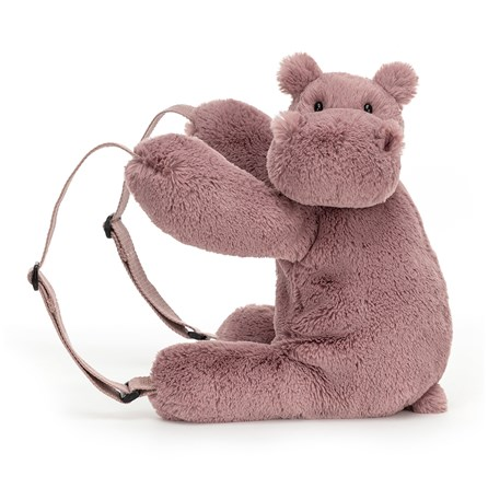 Jellycat Huggady Hippo Backpack