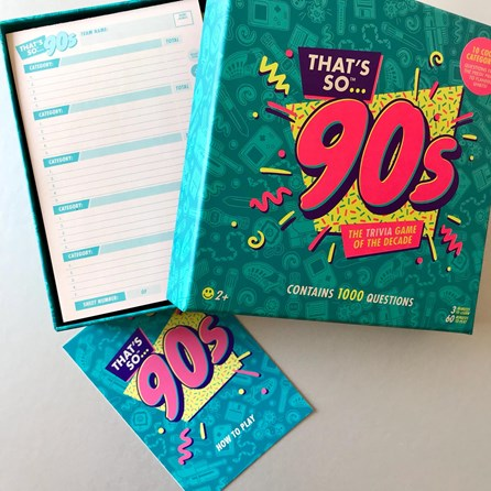 90's Trivia Quiz Of The Decade