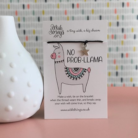 'No Prob-Llama' Star Wish Bracelet