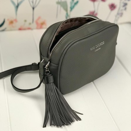 Cross Body Bag In Grey