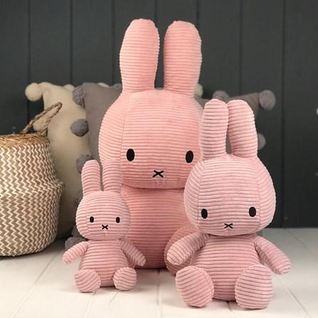 Pink Corduroy Miffy