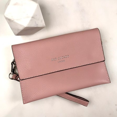 Clutch Bag In Pink