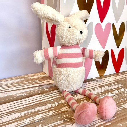 Jellycat Bredita Bunny Chime Soft Toy