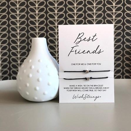 'Best Friends' Duo Star Wish Bracelets