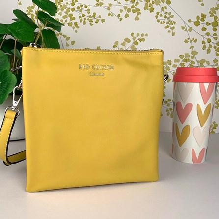 Tall Cross Body Bag In Yellow