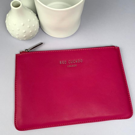 Stunning Pouch In Hot Pink