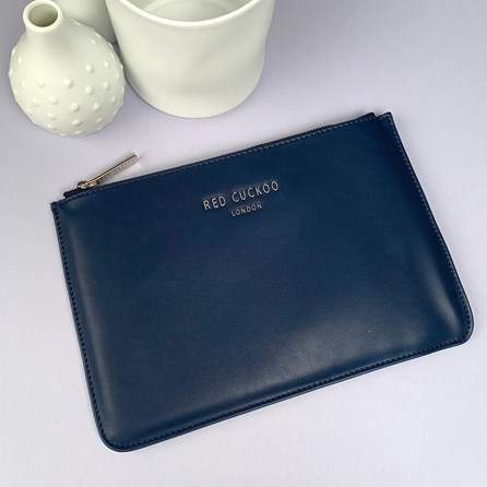 Stunning Pouch In Navy