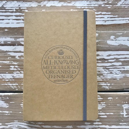 'All-Knowing Teenager' Notebook