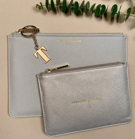 Katie Loxton Personalised 'Fabulous Friend' Perfect Pouch Gift Set