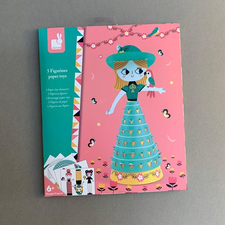 Creative Paper Dresses - Cute Dolls