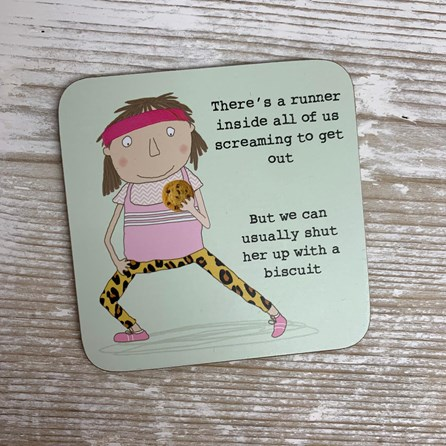 'There's A Runner Inside All Of Us...' Drinks Coaster