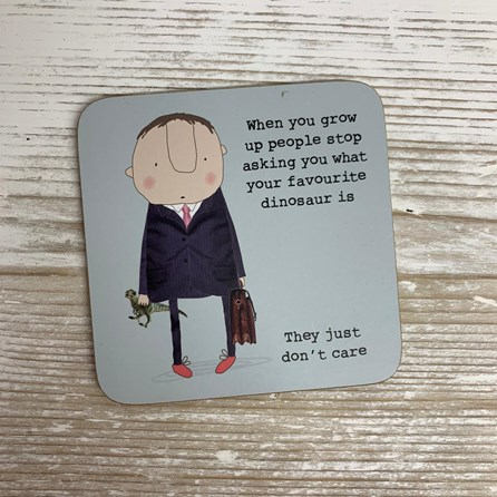 'When You Grow Up...' Drinks Coaster