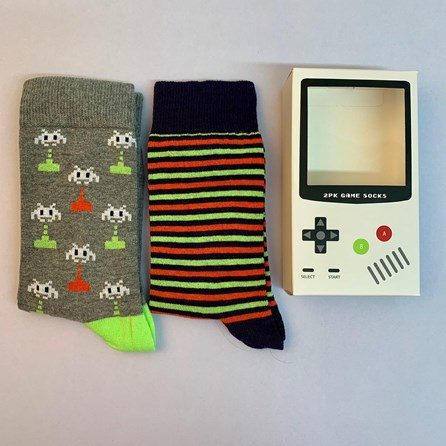 Gaming Socks Gift Set Of 2