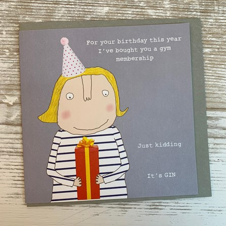 'For Your Birthday This Year...' Greetings Card