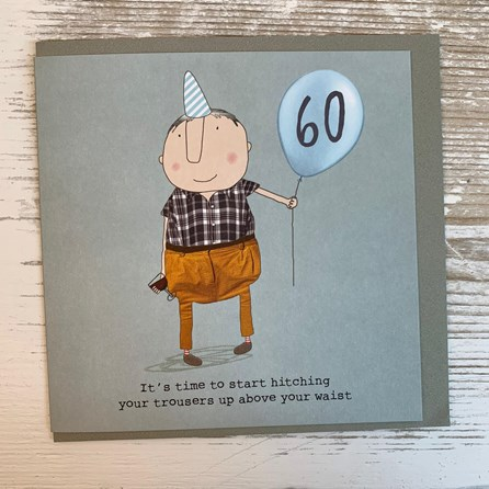 '60 It's Time To Start...' Greetings Card