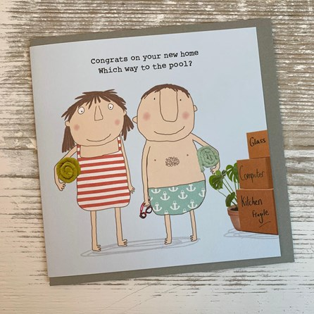 'Congrats On Your New Home...' Greetings Card