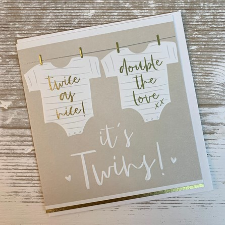 'It's Twins!' Card