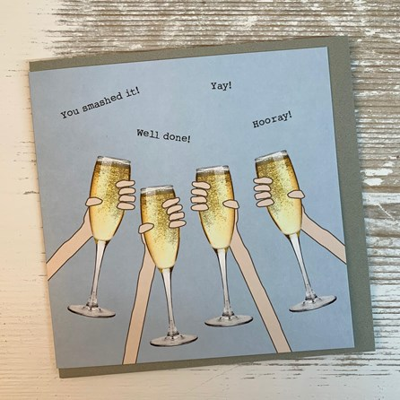 'You Smashed It!...' Greetings Card