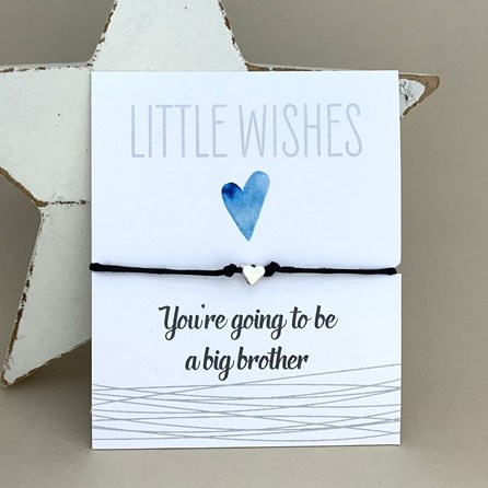 'You're Going To Be A Big Brother' Wish Bracelet