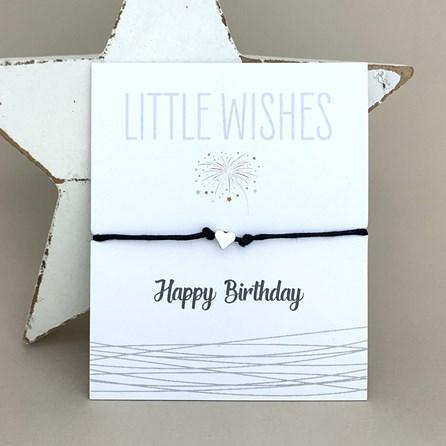 'Happy Birthday' Wish Bracelet
