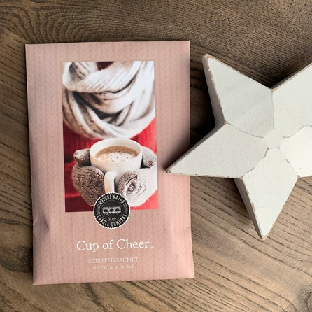 Scented Room Sachet - Cup Of Cheer