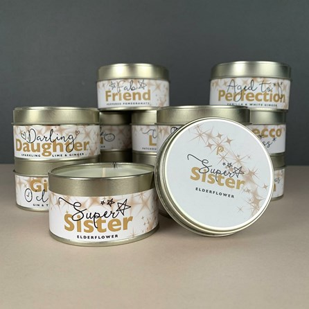 Pintail 'Super Sister' Occasions Candle