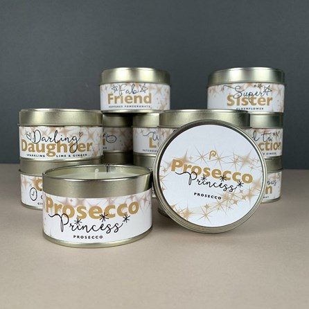 Pintail 'Prosecco Princess' Occasions Candle