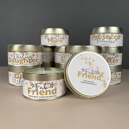 Pintail 'Fab Friend' Occasions Candle