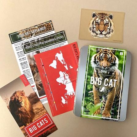Adopt a Big Cat Gift Tin
