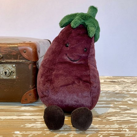 Jellycat Amuseable Aubergine Soft Toy